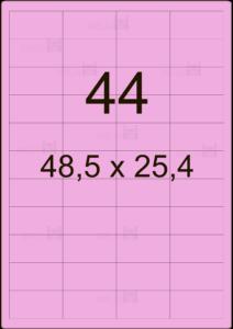 Этикетка А4 48,5х25,4